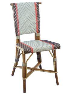 Chaise rotin rayures Collections - Maison Gatti | Inspiration ...