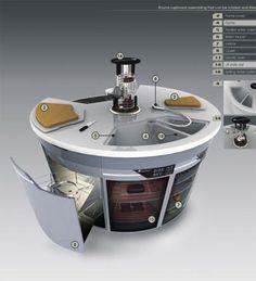 modern kitchen design concept