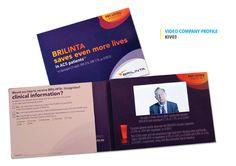 Video Brochure designs, Video Company Profile