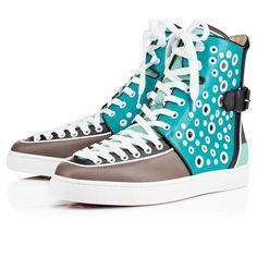louboutin men trainers - BUBBLE SPIKE MULTI,MULTI,Suede,Men Shoes,Louboutin. | Favorite ...