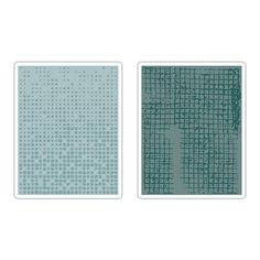 Tim Holtz Alterations Texture Fades Dot-Matrix /& Gridlock Set Embossing Folders