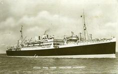 Highland Monarch.  My dad journeyed on this ship to Brazil in the 1930's.