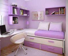 Tiny bedroom solution idea