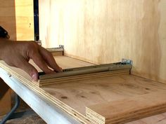 Build A Custom Roll-out Drawer Cabinet