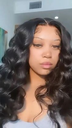 Body Wave Wig, Glo Up, Pretty Females, Wand Curls, Black Girls Hairstyles, Lace Wigs, Wands, Hair Makeup, Long Hair Styles