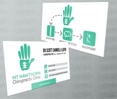 Mt Hawthorn Chiropractic Clinic is looking for modern designs for new business cards by Deepish