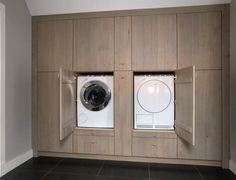 Laundry and linen cabinetry Mudroom Laundry Room, Laundry Room Remodel, Laundry Room Cabinets, Ikea Pax Wardrobe, Laundry Room Inspiration, Laundry Room Design, Walk In Closet, Washroom, Home Deco