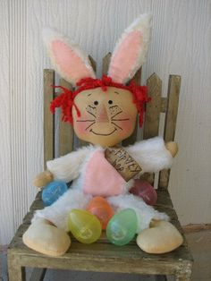 Raggedy Annie Bunny doll E-pattern from Frogs to Fairy Dust by Amy Jandebeur
