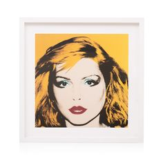 Buy the Debbie Harry, 1980 Wall Art by Andy Warhol at Oliver Bonas. Enjoy free UK standard delivery for orders over £50.