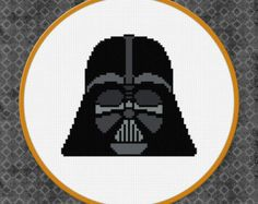 Modern Cross Stitch Pattern PDF Star Wars Death Star Counted