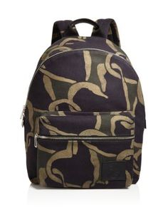 PAUL SMITH Printed Backpack. #paulsmith #bags #leather #canvas #backpacks #