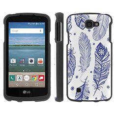 Buy LG [K4] [Optimus Zone3] [LG Spree] [LG Rebel LTE] Phone Case [ArmorXtreme] [Black] Designer Image [Shell Hard Cover] - [Blue Feather] for LG [K4] [Optimus Zone3] [LG Spree] [LG Rebel LTE] NEW for 10.95 USD   Reusell