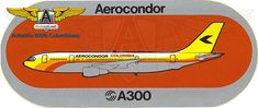 Aerocóndor A300 Sticker
