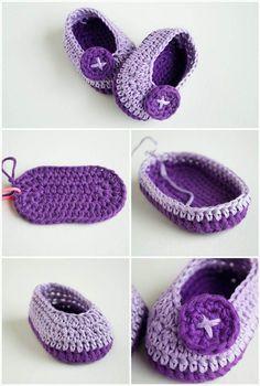 Crochet Baby Booties - Top 40 Free Crochet Patterns - DIY & Crafts