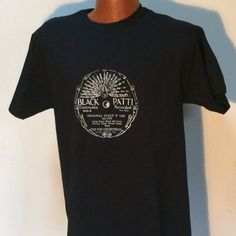 Hey, I found this really awesome Etsy listing at https://www.etsy.com/listing/498488006/black-patty-record-label-t-shirt