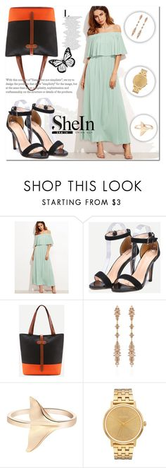 """""""Shein 8"""" by miralemaa ❤ liked on Polyvore featuring Fernando Jorge, Nixon and shein"""