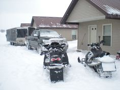 Tug Hill, NY Snowmobiling with my love and good friends