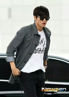 Lee Min Ho in ICN airport going to Singapore 09.26.2014