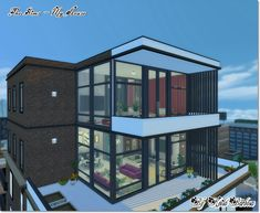 The Sims-My House : Cobertura Vista do Chafariz Reformada