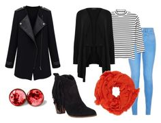 """Styling it Red"" by gigglycow on Polyvore featuring New Look, Monki and Steve Madden"