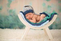Newborn knitted hat-Newborn Photography Prop-Gray Blue Stocking Cap-Newborn Hat-Newborn Stocking Cap-Newborn Prop by EllieBellieProps on Etsy