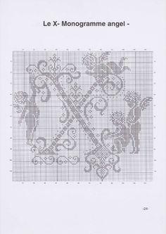 Вышиваем крестиком. МОНОГРАММЫ С АНГЕЛАМИ (27) (495x700, 172Kb)