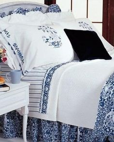 Ralph Lauren U2013 The Porcelain Blue Collection (My Bedroom Bedding)