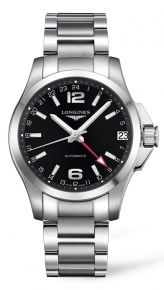 CONQUEST GMT 41 MM AUTO. Ref: L3.687.4.56.6