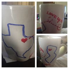 My DIY Mug for my boyfriend! Hope he likes it!