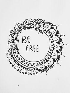 be free | freedom | words | circle of life | draw | www.republicofyou.com.au
