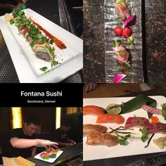 A great way to end the weekend.. #sushi ! We love sitting at the bar and watching Chef Chen create tasty bites and our own custom roll with  #king salmon #tuna #wasabi #avocado #yellowtail #asparagus #cilantro ----- #foodie #traveling #foodporn #sushiporn #instasushi #wanderlust #womenover50 #redsnapper #sundayfunday #instapic #instafood
