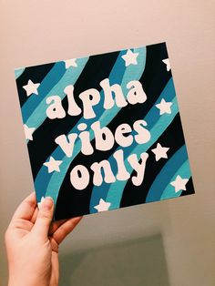 alpha vibes only retro canvas alpha omicron pi canvas, aopi can. - alpha vibes only retro canvas alpha omicron pi canvas, aopi canvas, sorority canvas, Source by Simple Canvas Paintings, Easy Canvas Art, Small Canvas Art, Mini Canvas Art, Cute Paintings, Diy Canvas, Sorority Canvas Paintings, Canvas Ideas, Drawing On Canvas
