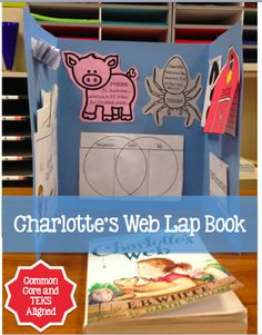 Make reading fun yet rigorous with this Charlotte's Web Lap Book and Vocabulary Novel Study.