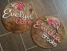 Nursery Name Wall Hanging Painted Name Signs, Wooden Name Signs, Baby Name Signs, Star Nursery, Nursery Signs, Girl Nursery, Nursery Name Art, Name Wall Decor, Nursery Wall Decor