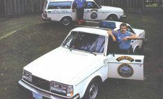 Volvo 240 Police Spec