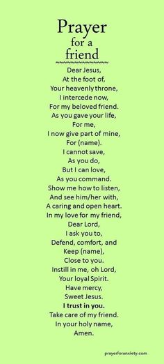 My pray for you Christopher