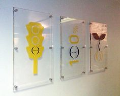 Wall Mounted Acrylic Signs