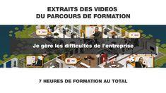 EXTRAIT Je gère les difficultés de l'entreprise La Formation, Movie Posters, Central, Envy, Film Posters, Billboard