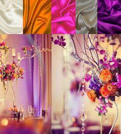 White, Pink, Purple, Orange, Silver, Inspiration board
