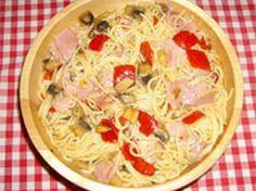 Pasta a la Soprano de #Carbochef ¡Mmm! Spaghetti, Pasta, Ethnic Recipes, Food, Dishes, Food Recipes, Noodles, Meals, Noodle