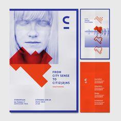 City Sense Platform branding design by Irene Shkarovska Web Design, Page Design, Book Design, Layout Design, Print Design, Editorial Layout, Editorial Design, Graphic Design Typography, Graphic Design Illustration