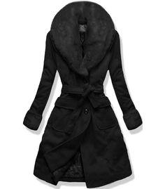 Kabát 22153 čierny