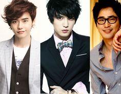 Kim Ji Won And Lee Jong Suk Kim Jaejoong, Kang Ji Hwan, and Lee Jong Suk Go on Monday-Tuesday ...