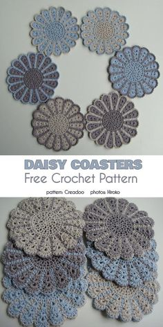 Latest Pics Crochet coasters with holder Concepts Camomile Pot Holder Free Crochet Pattern Crochet Potholders, Crochet Doilies, Crochet Tablecloth, Easy Knitting Projects, Crochet Projects, Crochet Home, Crochet Crafts, Crochet Designs, Crochet Patterns
