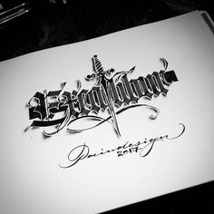 Calligraphy Lessons, Calligraphy Artist, Calligraphy Words, Beautiful Calligraphy, Chicano Lettering, Script Lettering, Typography Letters, Creative Typography Design, Lettering Design
