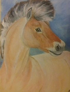 Horse painting from me My Arts, Horses, Painting, Animals, Animales, Animaux, Painting Art, Paintings, Animal