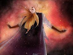 Feeling the Fire! by lillybraconnot  Enomar, the King of the Deadhron