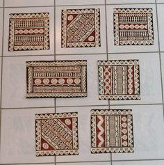 Attualmente nelle aste di #Catawiki: Lotto di Tapa 7 pezzi unici - delle isole Fiji