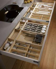 J adore les grands tiroirs!!