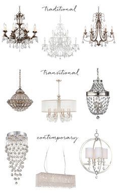 Crystal chandeliers are eye-catching sources of light. Lamps Plus shares its favorite chandelier designs, from traditional to contemporary styles. Luminaire Original, Luminaire Vintage, Crystal Chandelier Lighting, Chandelier Lamps, Interior Decorating, Interior Design, Diy Décoration, Home Living, My New Room